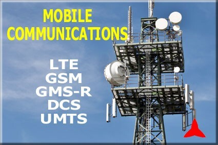 mobile communications GSM UMTS LTE TETRA antennas PROTEL
