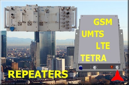 mobile repeater gsm umts lte tetra protel